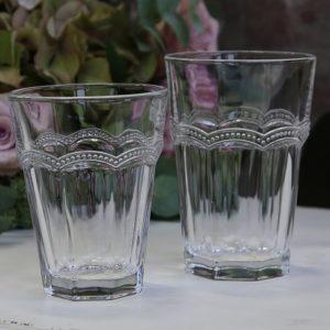 Stel, glas og bestik